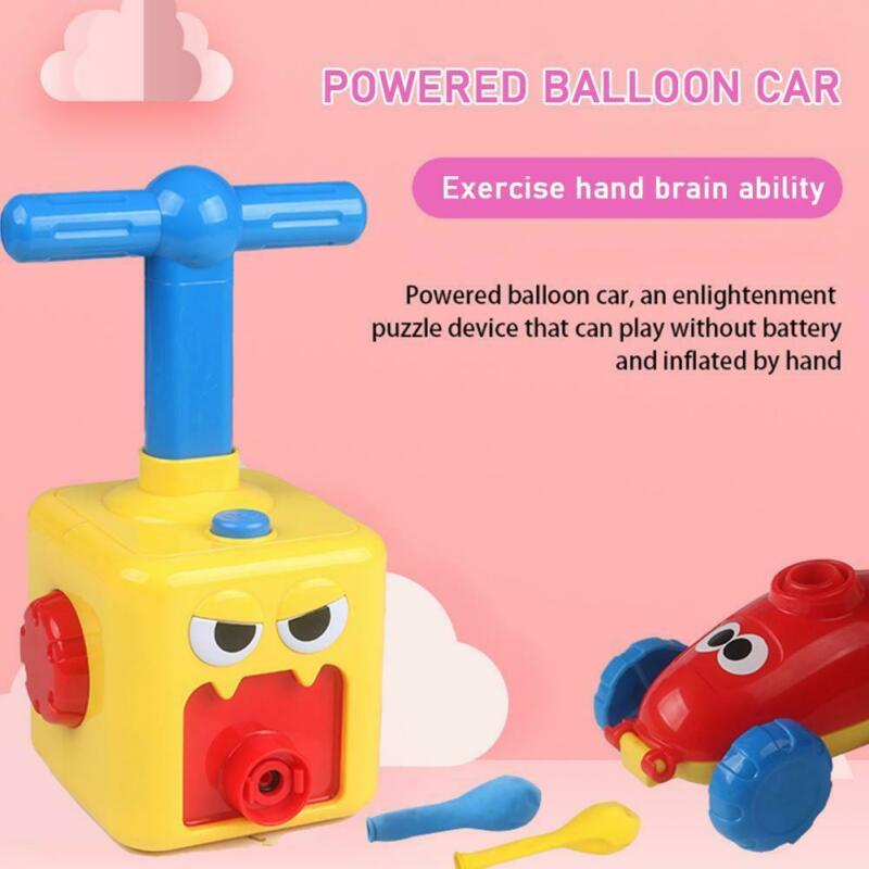 Inertial Power Balloon Car Set Portable Educational DIY Toy For Children Indoor & Outdoor Novelty Toys【HOT】