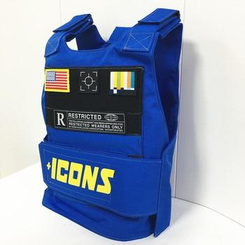 цена на +ICONS Tactical Military Vest men Moto&Biker Molle Combat Sleeveless Tactical vests Colete Tatico Chalecos para hombre Yelek