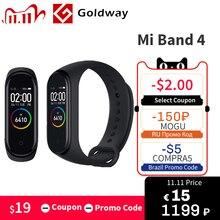 In Stock ! 2019 New Xiaomi Mi Band 4 Smart Color Screen Bracelet Heart Rate Fitness 135mAh Bluetooth 5.0 Waterproof Smart Watch