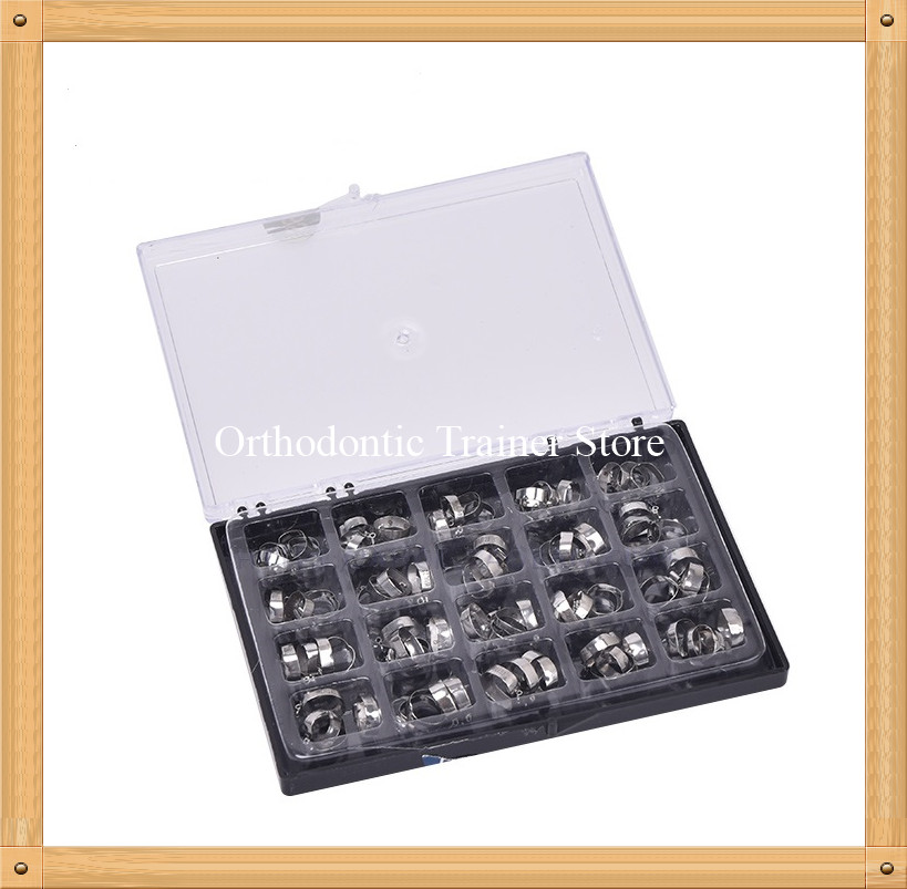 16-35# Dental Molar Bands Kit Orthodontic Molar Band