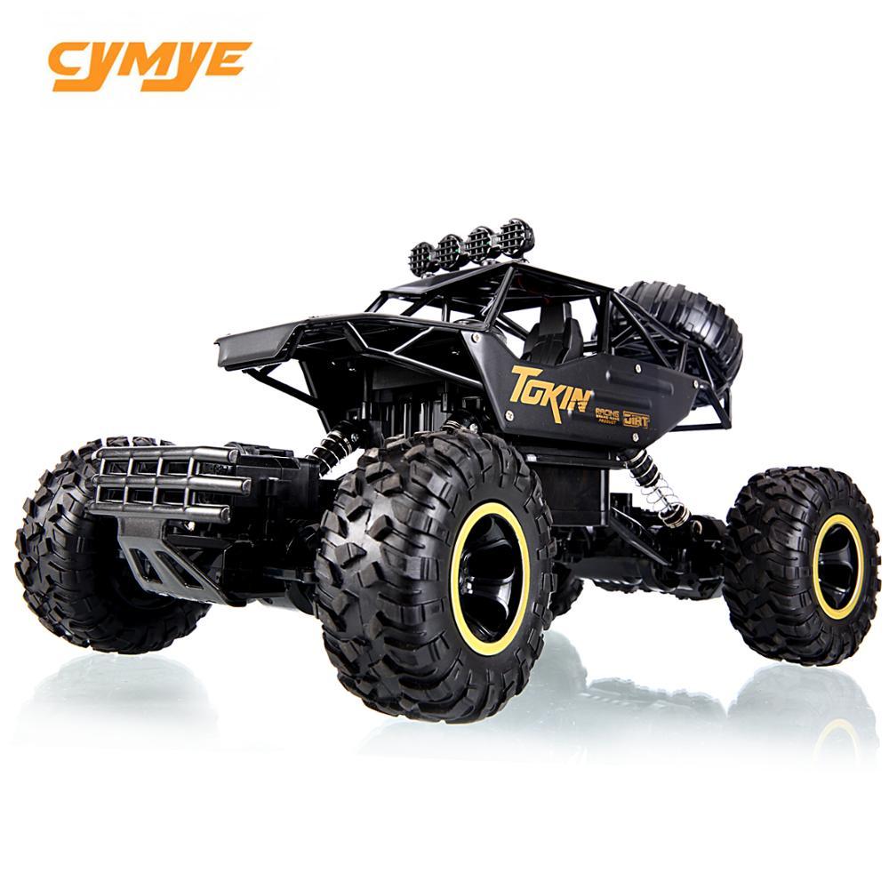 Cymye rc coche 6141 4WD 1/16 escala 2,4G Control remoto fuera de carretera vehículo escalada RC Buggy