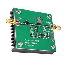 RF Broadband Power Amplifier Module for Radio Transmission FM HF VHF 1-930MHz 2W X6HB digital transmission rf microwave broadband high frequency high linear power amplifier 30 1200mhz 0 2w
