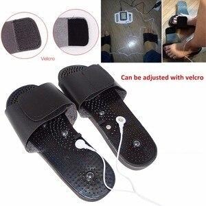Image 5 - מלא גוף חשמלי ממריץ שרירים להירגע מכשיר טיפול דיקור דופק עשרות לעיסוי עם 16 רפידות נעלי כפפות אריזת מתנה