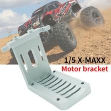 Montagem do motor ajustável da liga cnc para 1/5 traxxs X-MAXX xmaxx 8s monstertruck rc peças de carro