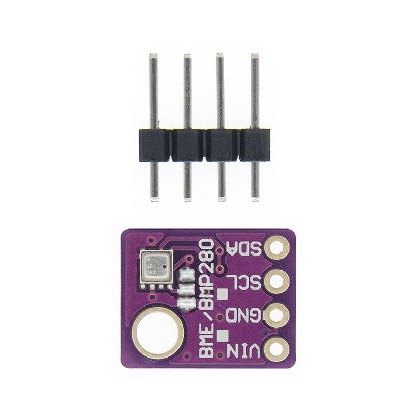 BME280 5 в 3,3 В цифровой датчик температуры и влажности атмосферный датчик давления модуль IEC SPI 1,8-5 в GY-BME280 - Цвет: BME280-5V