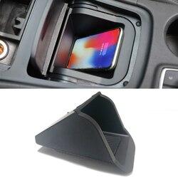 Для Mercedes Benz CLA GLA класс W176 X156 CLA220 GLA200 A180 автомобиль QI Беспроводная зарядка телефон зарядное устройство аксессуары для iPhone 8 X