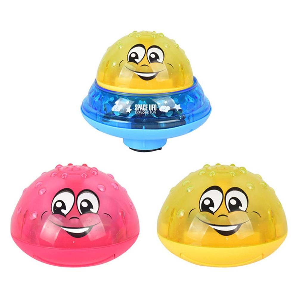 Funny Infant Bathing Toy Boy Electric Induction Sprinkler Toy Light Music Baby Bathroom Play Water Multicolor Ball Toys KidsGift