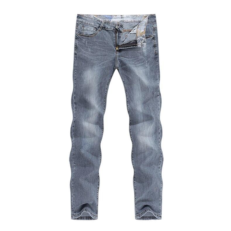 KSTUN New Arrivals Mens Jeans Brand Slim Straight Regular Fit  Stretch 2020 Summer Denim Pants Jeans Men Vintage Cowboys Top Quality 11
