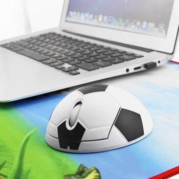 Оптическая беспроводная мышь, эргономичная компьютерная мышь, футбол, баскетбол, форма, милый 3D ПК, Офисная мышь для ноутбука, мальчика, ребенка, подарок
