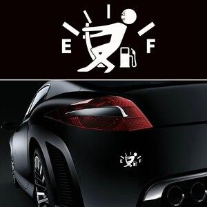 Image 5 - 1Pc drôle voiture autocollant tirer bouchon de réservoir de carburant couverture pointeur complet hellafluxuriant réfléchissant voiture vinyle autocollant autocollant en gros voiture style