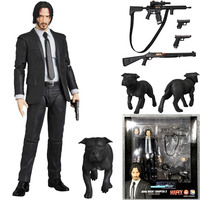 15cm New Type Mafex 085 JOHN WICK Chapter 2 Action Figure Collectible Model Toy