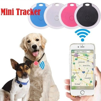 Mini Waterproof Phone Bluetooth Tracker Locator Anti-Lost Theft Device Alarm Remote GPS Tracker Child Pet Bag Wallet Key Finder image
