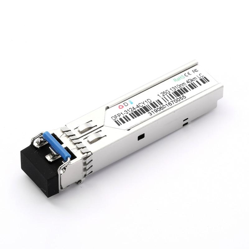 1.25G SFP 1310nm 40KM LC Connector Dual Fiber Compact Transceiver
