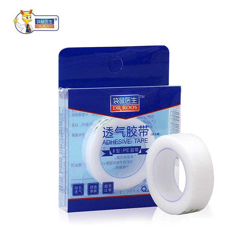 DR. ROOS 2 rollos cinta adhesiva médica transparente cinta PE pegar a la herida vendaje fijo cinta impermeable 1 Uds. Copa Menstrual de silicona de grado médico mujeres Coupe Menstruelle de silicona de alta tipo copa de vagina Coletor Menstrual