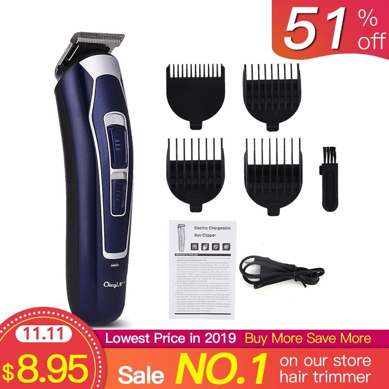 Elektrische Haar Clipper Rasierer Geräuscharm Professional Hair Trimmer Cordless männer Haar Schneiden Maschine Bart Trimer42