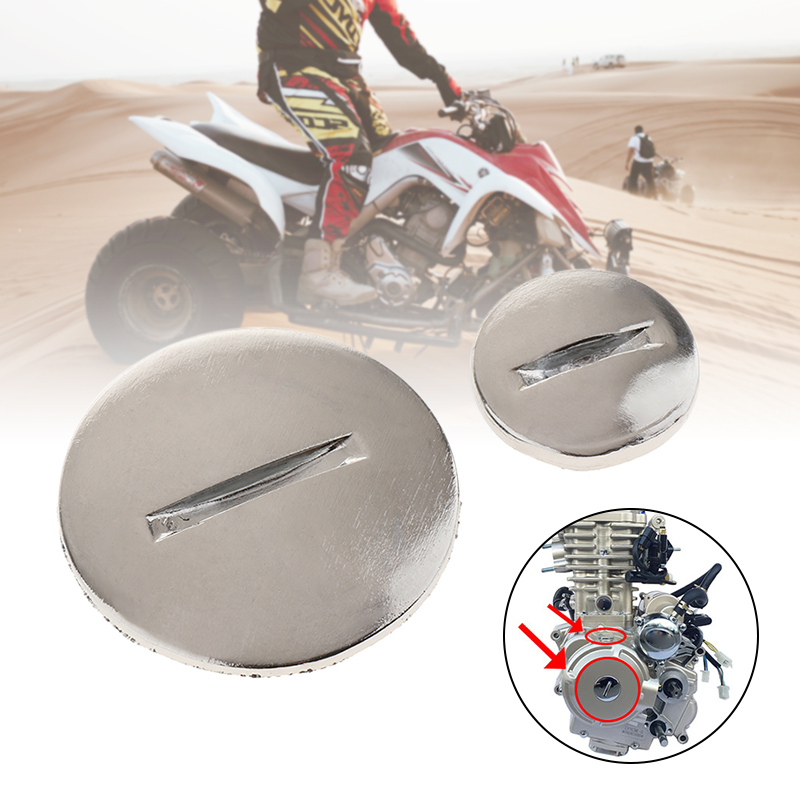 1 Set Motorcycle Engine Stator Side Cover Cap Stator Engine Case Cover For 50cc 70cc 90cc 110cc ATV Quad Dirt Bike Engine