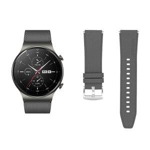 Image 5 - Sportowy skórzany pasek do zegarka Huawei GT 2 Pro pasek oficjalny styl Watchband do huawei gt2 pro opaska wymiana bransoletki