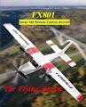 DIY Радиоуправляемый игрушечный самолёт с дистанционным управлением планер FX-801 RC самолет Cessna 182 DIY EPP Ремесло пена Электрический открытый сам...