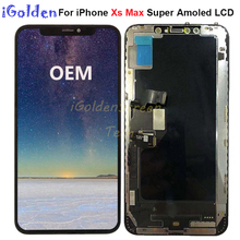 6.5 For iPhone Xs max LCD Replacement LCD Display With Touch Screen Digitizer Assembly for iphone X S max lcd