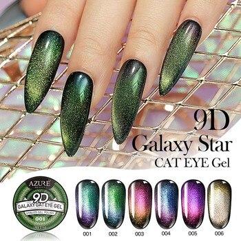 Lacheer 9d Camaleón Galaxy Gel De Uñas Efecto Ojo De Gato