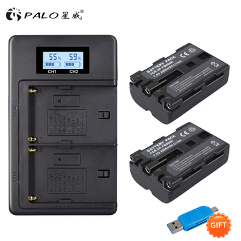 Palo NP-FM500H batería de repuesto para cámara + cargador de batería NP...