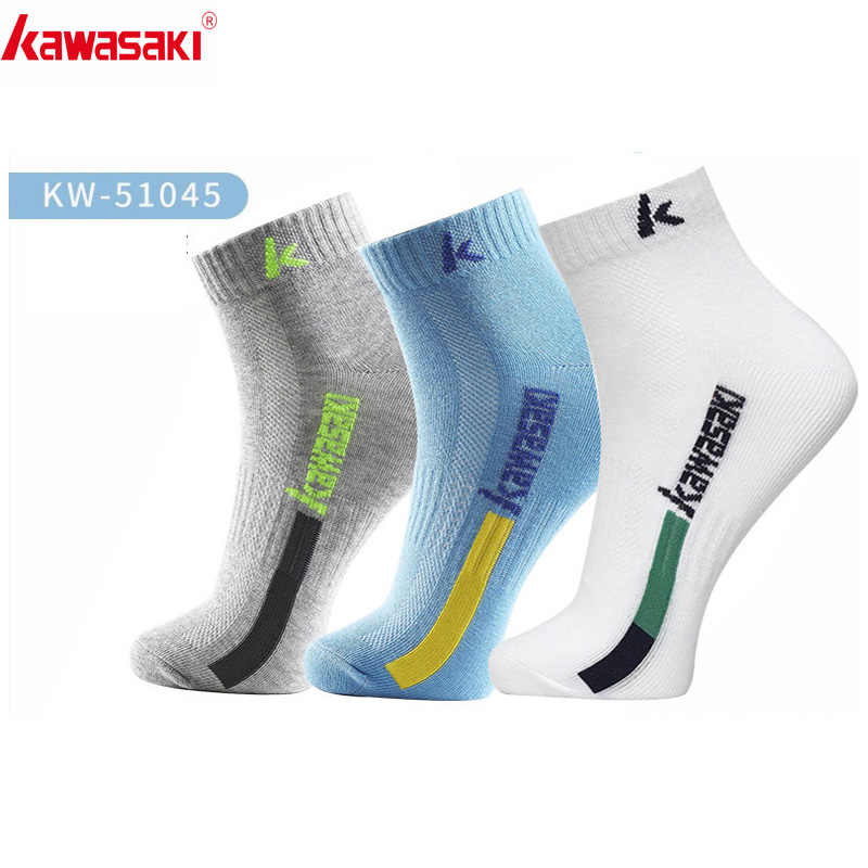 Kawasaki  Men's Cycling  Socks Running Socks Breathable Cotton Basketball Sport Socks Professional Boys Socks