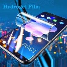 Protetor de tela de cobertura completa filme de hidrogel para htc desire 12s 12 u12 u11 u19e u20 19 mais u ultra play 10 evo película protetora
