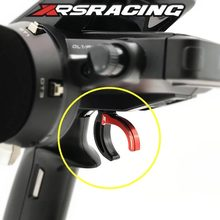 XRSRACING Blau/Rot FUTABA 4PX 4PXR 7PX Gun Fernbedienung Verbesserte Aluminium Gas Trigger Bremse Trigger Erhöhen control