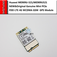 New for Huawei Unlocked ME909U 521 FDD LTE Mini pcie 4G WCDMA Support GPS Voice Message GSM B1/B2/B3/B5/B7/B8/B20