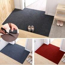 Não deslizamento tapete da porta de entrada capacho cozinha tapete da porta da frente absorve tapetes banho interior bem vindo tapete casa decoração capachos