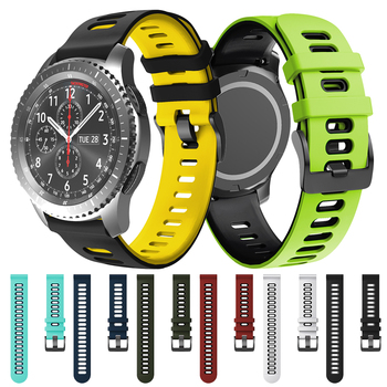 Active2 Correa Silicone Band for Samsung Galaxy Watch 46mm 42mm Gear S3 Classic and Frontier Strap Watchband Bracelet ремешок