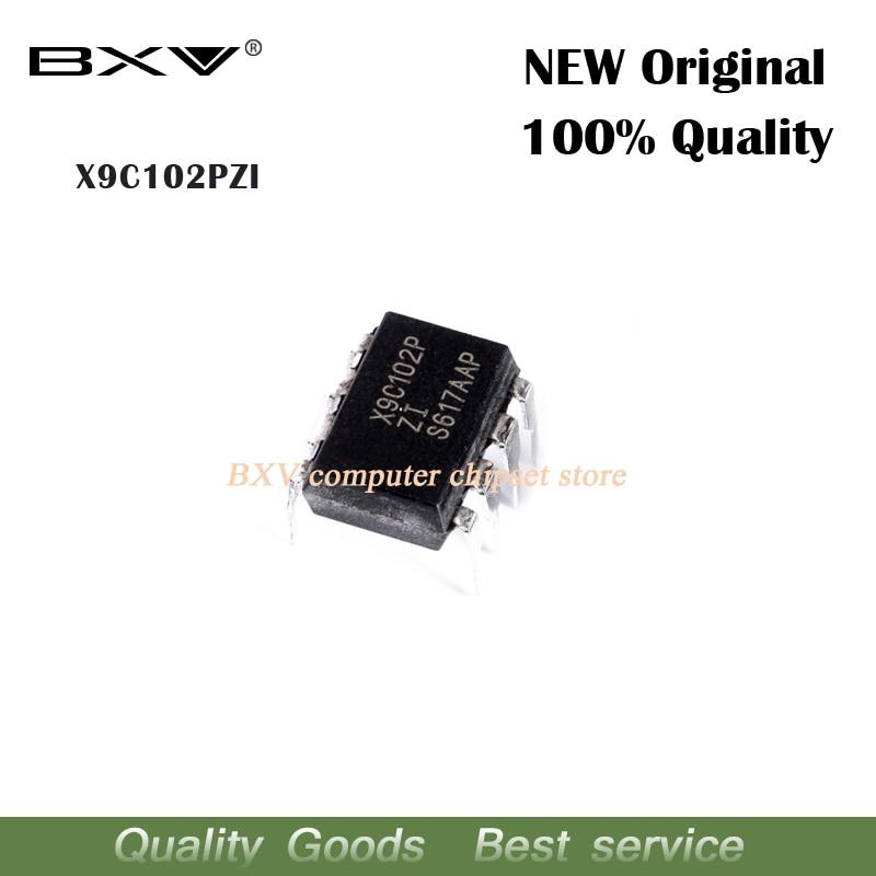 5PCS X9C102PIZ X9C102PZI DIP8 DIP X9C102P X9C102 New Original