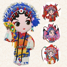 Magnets Souvenir Opera From-China Chinese-Style Refrigerators Nice-Gifts Face for Peking