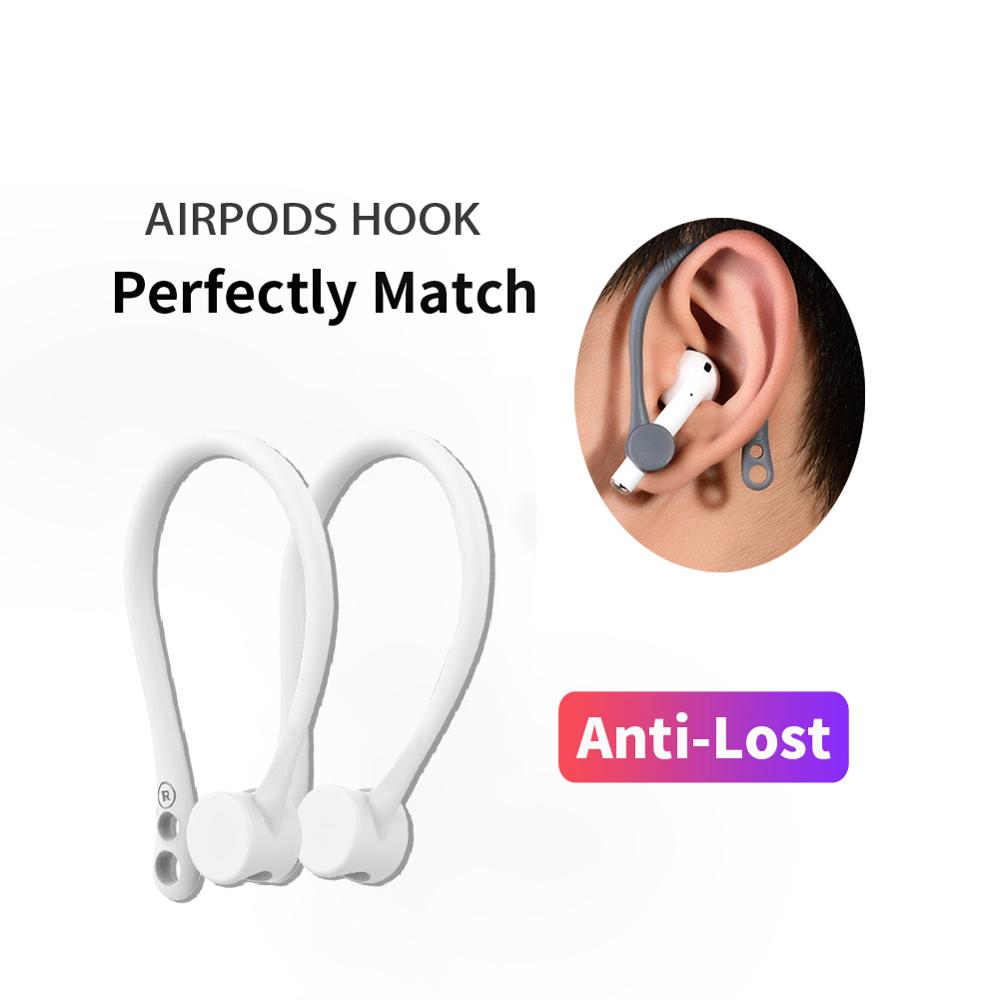 protection airpods earhook silicone bluetooth wireless earphone holder earbuds ear hook for apple anti-lost air pods accessories