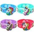 Модный детский браслет с милыми животными единорогом, цветной браслет, детские браслеты разных стилей, вечерние браслеты для подарка на ден...