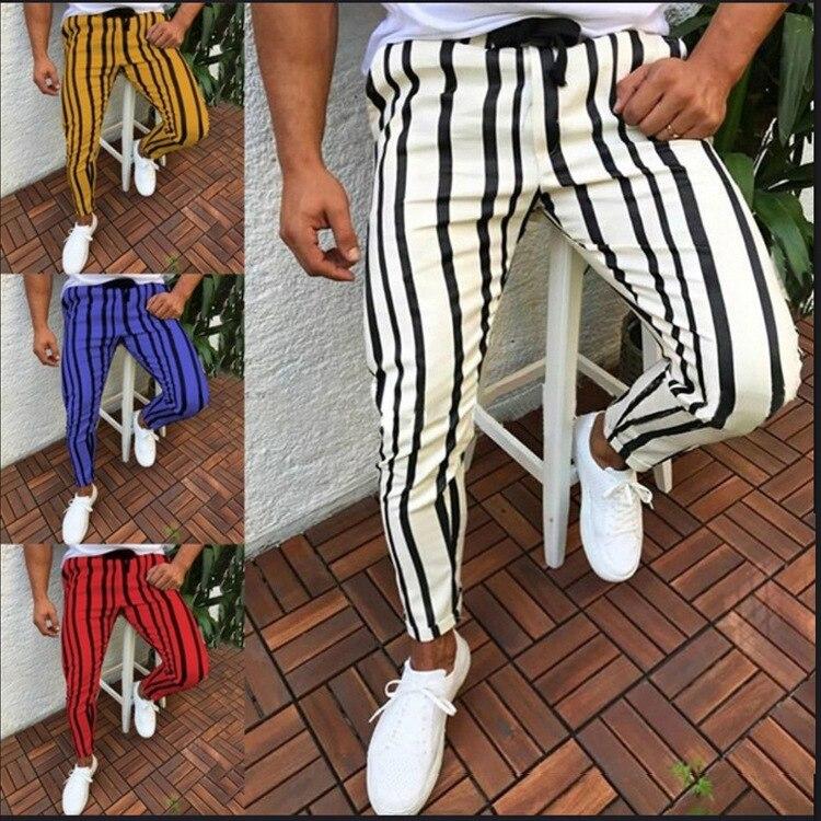 Men's sports running pants solid color football pant training sport pants elasticity male jogging bodybuilding