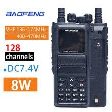 BaoFeng walkie talkie DMR 1802Plus de doble banda, 5W, VHF, UHF, VFO, Digital/analógico, cifrado, HF, transceptor, Radio bidireccional, 2021