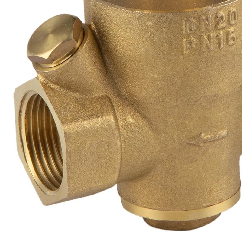 Dn15 1/2 дюймовый регулятор снижения давления воды регулируемый клапан снижения давления воды