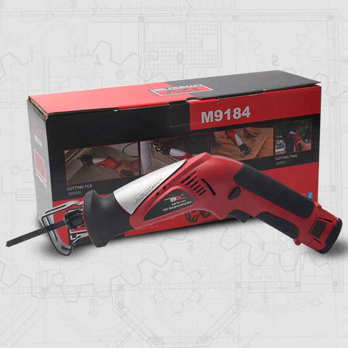 Image 3 - 2000mAh 12V Lithium Reciprocating Saw Cordless Saber Saw Portable Electric Jig Saw with Adjustable Speed for Wood Metal Cutting-in Electric Saws from Tools on