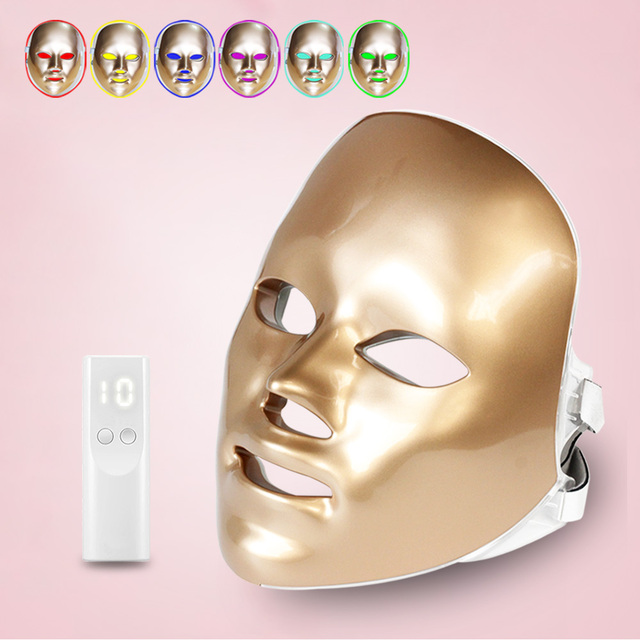 Led Mask Face Facial Mask 5 Types 7 Colors Electric Machine Light Therapy Acne Mask Neck Led Mask Beauty Led Photon Therap
