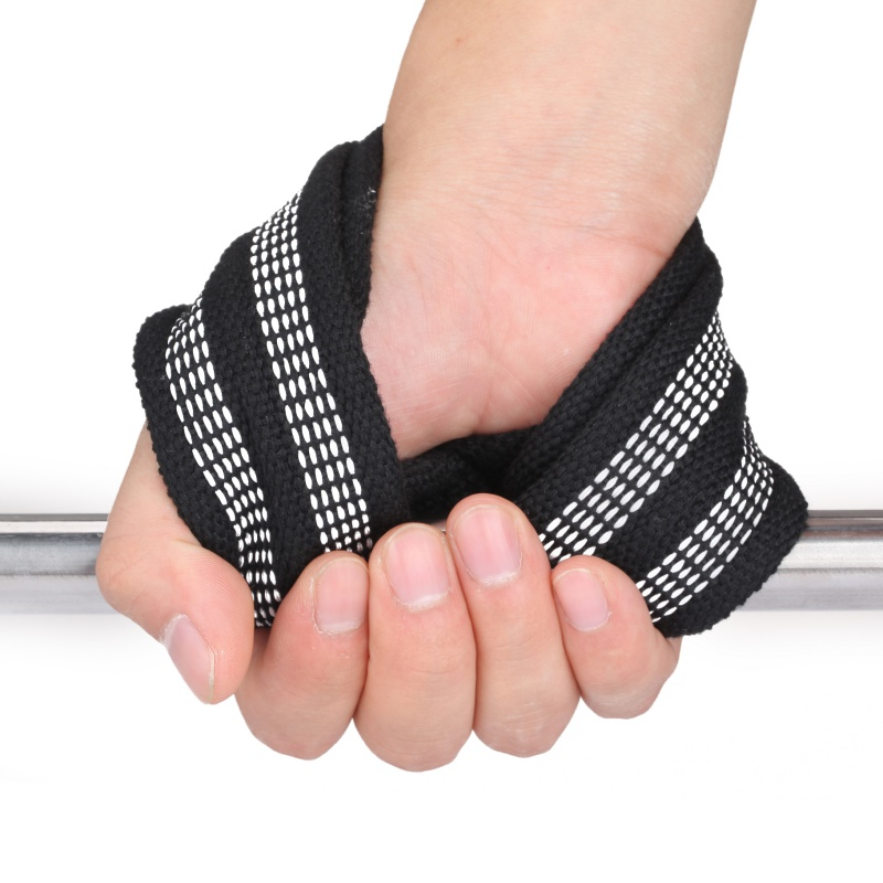2pcs/set 8 Word Weight Lifting Straps Wrist Strap For Pull-ups Horizontal Bar Powerlifting Gym Fitness Bodybuilding Equipment