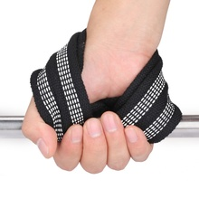 2pcs/set 8 Word Weight Lifting Straps Wrist Strap for Pull-ups Horizontal Bar Powerlifting Gym