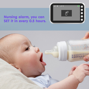 Image 3 - Ainhyzic 4.3'' IPS Screen Video Baby Monitor with Camera,Wireless Cry Baby Alarm Video Monitor Night Vision Security Babysitter