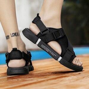 Image 4 - Thời Trang Người Đi Biển Lưới Giày Sandal Mùa Hè 2019 Ngoài Trời Cho Nam Chống Trượt Giày Thường Thoáng Khí Krasovki Tenis Dép Nóng