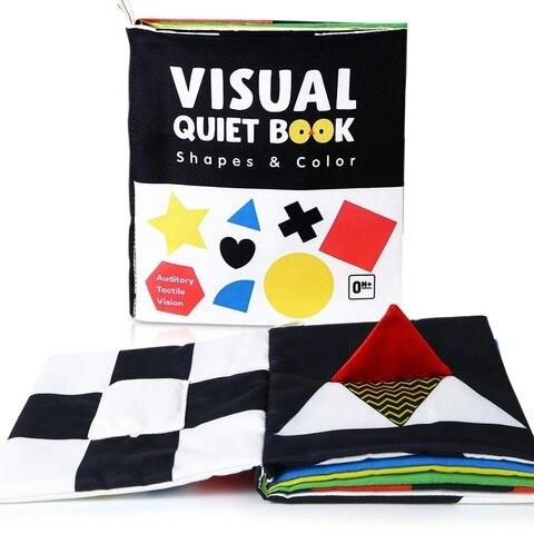 beiens livro do bebe livro silencioso visual criancas brinquedos educativos infantil montessori 3d pano livros