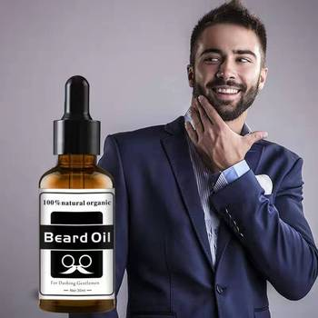 Beard Care Beard Oil Men's Beard Care Essential Oil Moistens Nourishes And Softens Hair Growth Liquid Post Shaving Water 1