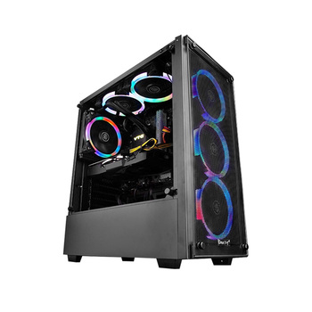 BEST Cost-effective Gaming PC IPASON AMD 6-Core Ryzen5 2600/Dedicated Card RTX2060 6G/DDR4 16G RAM/1T+120G SSD Desktop Computer 2