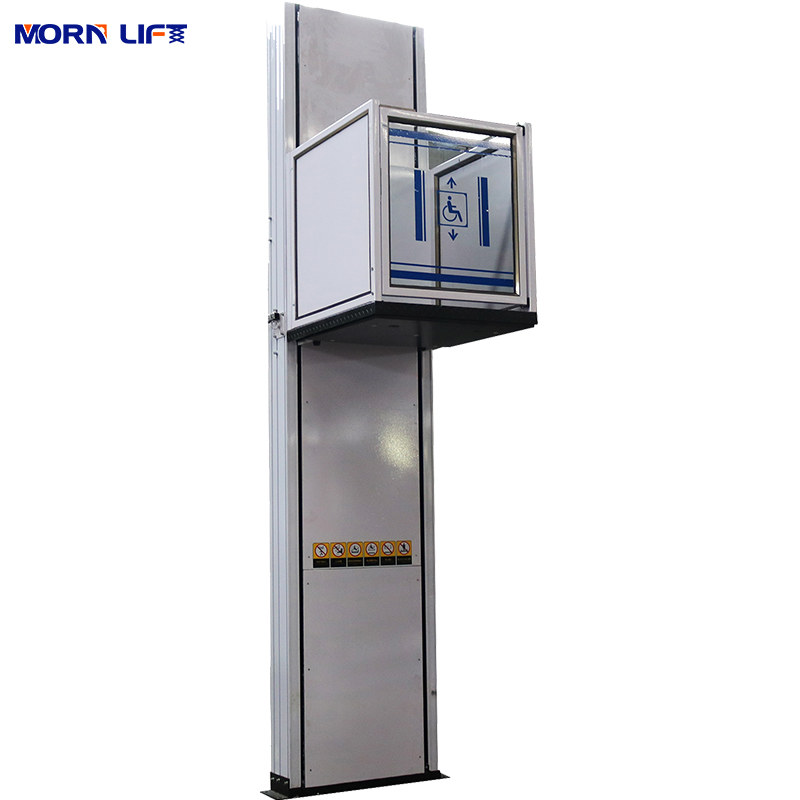 4.8m Electric Home Elevator Vertical Wheelchair Lift for Disabled People