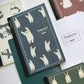 Glücklich Tier Tragbare A5 Grid Papier Buch 64P Kreative Agenda Zeitschrift Liefert Freies Verschiffen