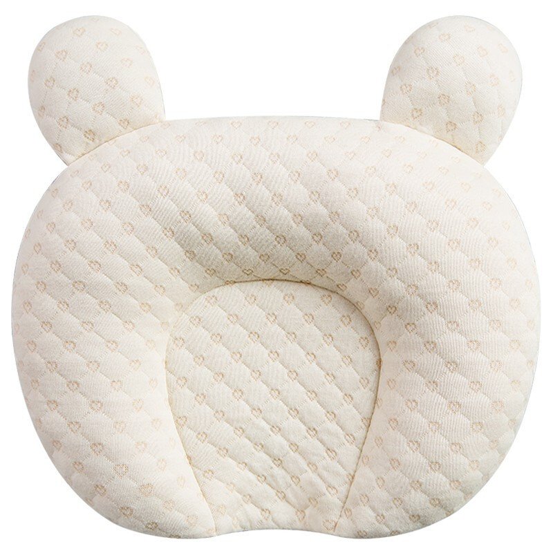 Breathable Stereotypes Anti-head Baby Protective Pillow 100% Cotton Latex Pillow For Newborn 0-1 Years Old Head Shaping Pillow